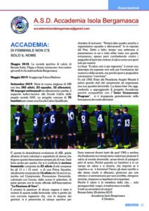 Articolo su La Bussola Dicembre 2019