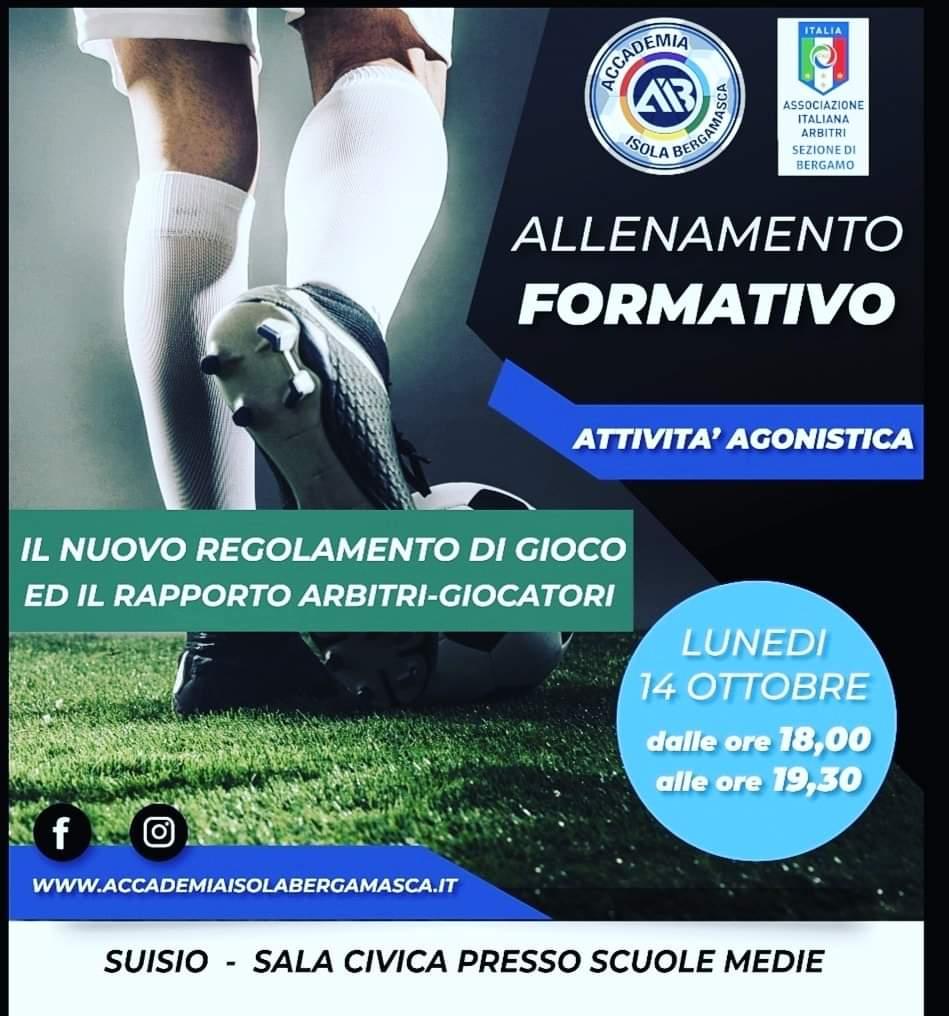 Progetto Formativo con Associazione Italiana Arbitri sez. di Bergamo